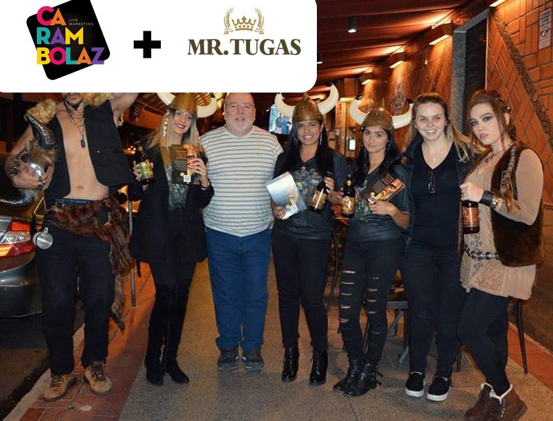 Mr. Tugas lança cervejas de inverno